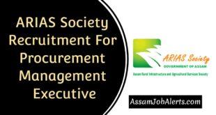 ARIAS Society Recruitment 2019