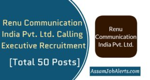 Renu Communication India Pvt. Ltd. Calling Executive Recruitment