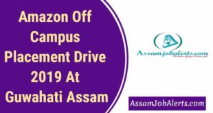 Amazon Off Campus Placement Drive 2019 At Guwahati Assam