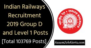 by Railway Recruitment Board (RRB) on behalf of Railway Recruitment Cell (RRCs)