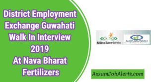 District Employment Exchange Guwahati Walk In Interview 2019 At Nava Bharat Fertilizers