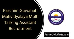Paschim Guwahati Mahvidyalaya Multi Tasking Assistant Recruitment